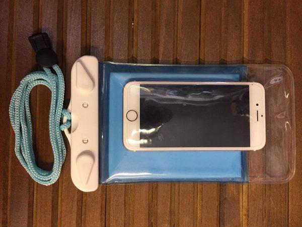 Vesitiivis kännykkäpussi
